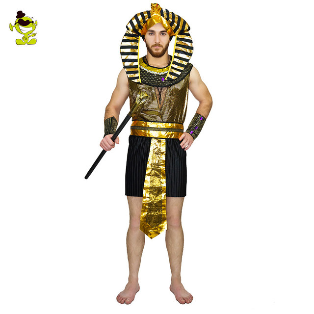 Adult men Glod Egyptian pharaoh costume for man Halloween Party costumes traditional Egypt Egyptian costumes cosplay  sc 1 st  Aliexpress & Online Shop Adult men Glod Egyptian pharaoh costume for man ...