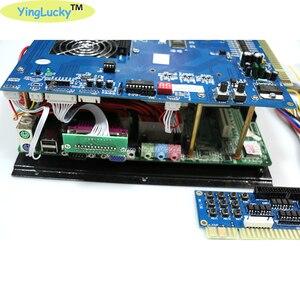 Image 3 - Yinglucky juego Arcade King, multijuego jamma clásico, consola PCB, placa base 3106 en 1 con fuente de alimentación ATX