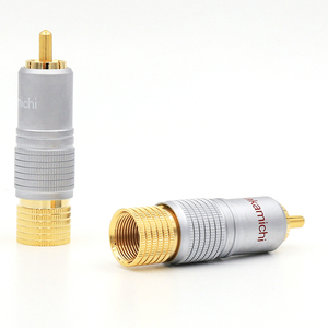 Image 5 - Nakamichi RCAปลั๊กขั้วต่อ24Kทองชุบ + ฟรี + 100% ใหม่