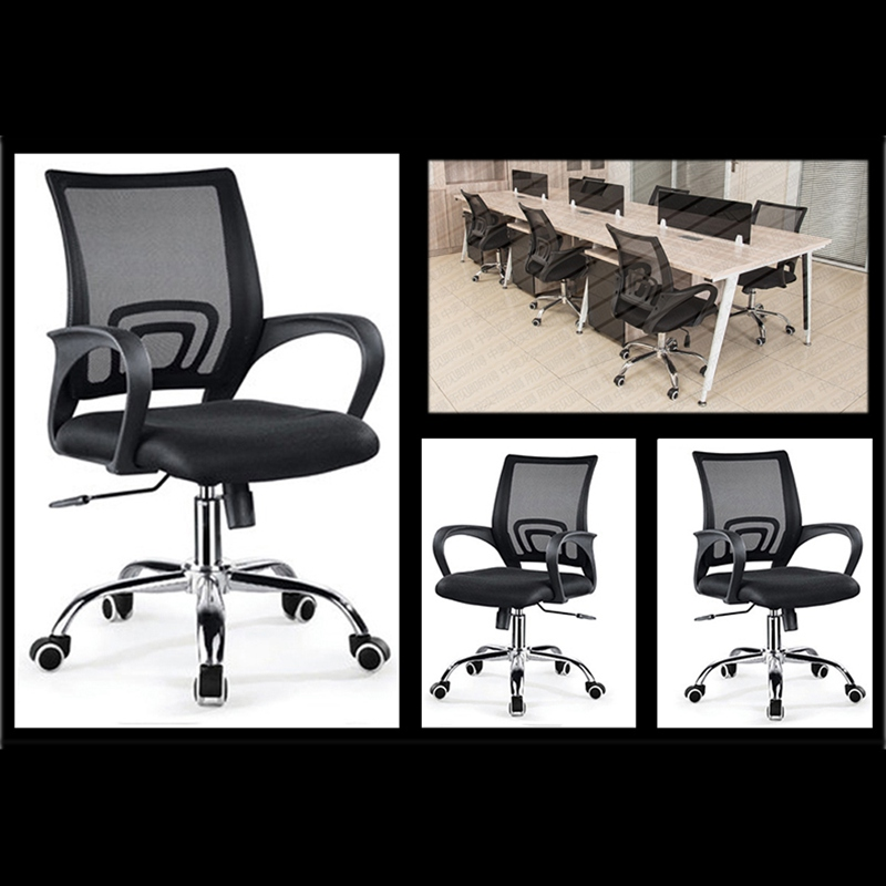 Mesh Office Chair Gas Lift Swivel Chair Armchair Rolling Legs Office Furniture Dropshipping цена