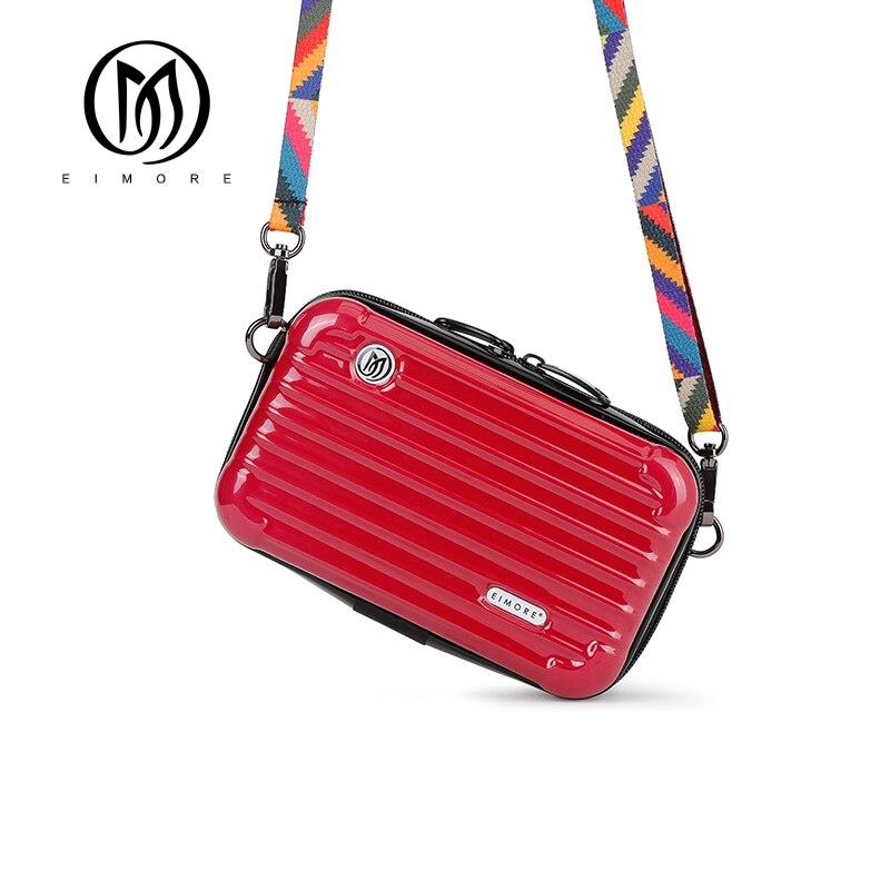 EIMORE Mini Women Shoulder bags Brand Plastic Crossbody bags for Women 2018 High Quality Small Messenger bags Fashion Designer цена