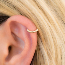 No Piercing Clip Earrings Jewelry Charm Handmade Fake Ear Cuff 14 Gold Filled Customizable For