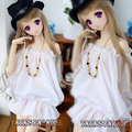 New Arrival Sweet Fairy Goddess White Chiffon Off-shoulder Shirt For 1/3 SD DD BJD Clothes