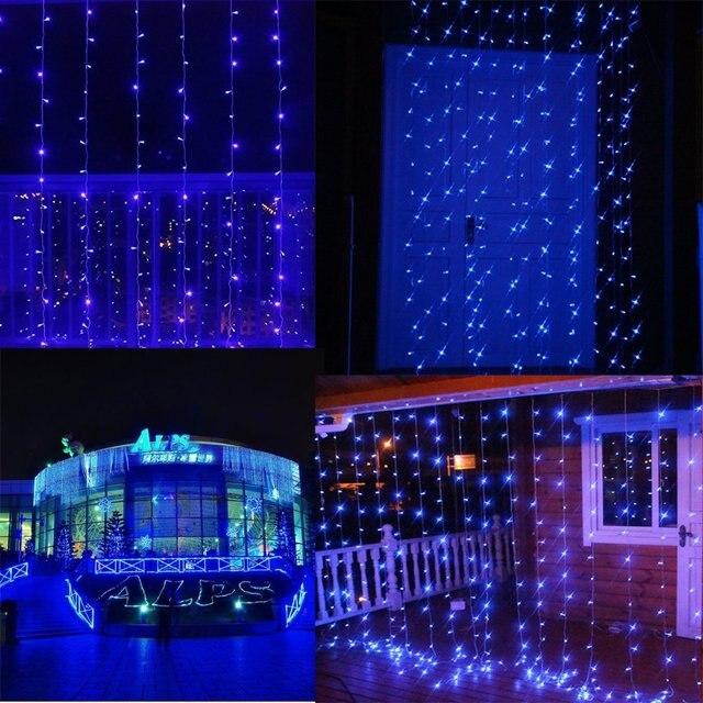 19.6ft 9.8ft 840led 8 Modi Vorhang LED Lichterketten ...