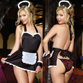 SZ711 summer style sexy lingerie hot hat+costumes+t-pant maid sexy costumes erotic lingerie babydoll sexy underwear sex products