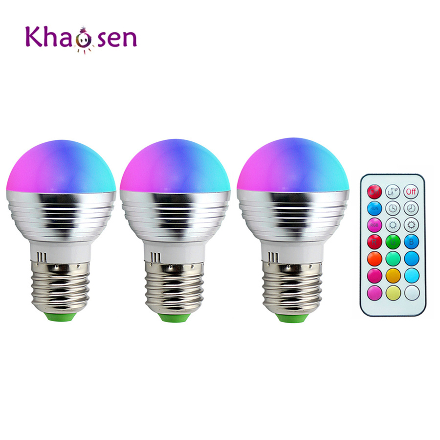RGBW Led Bulbs 5050+2835SMD RGB Led Lamp 5W E27/E14/B22 LED Light110V 220V Colorful Dimmable Chandeliers+Remote Controller blugirl folies свитер