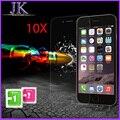 10 шт. 0.3 мм 9 H Супер Тонкий Закаленное Стекло Пленка для iPhone 7 6 6 s плюс 5 5S 5c 4 4S Прозрачный Экран Протектор с Чистой инструменты