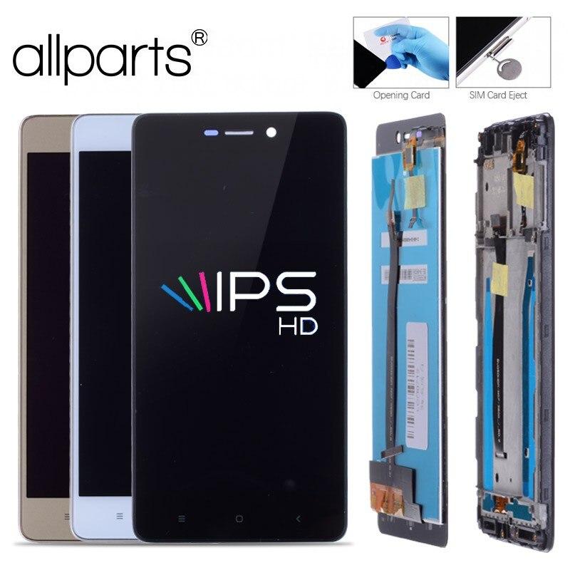 ALLPARTS 5.0 IPS LCD Pour XIAOMI Redmi 3 s Affichage Écran Tactile Digitizer Avec Cadre Remplacement Pour XIAOMI Redmi 3 s LCD Affichage
