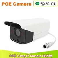 POE CAMERA 1 3MP IR 20M 2PCS LED New 48V 1 3MP HD Real POE IP