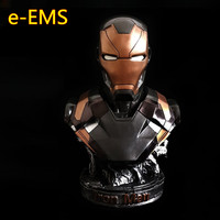 Avengers 3 Superhero Iron Man Bust MK46 Tony Stark Justice League PVC Action Figure Collection Model Toy L2381