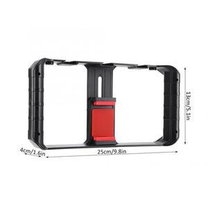 Image 5 - Ulanzi Smartphone וידאו Rig 3 חם נעל Mounts קולנוע מקרה מייצב מסגרת טלפון Stand מחזיק עבור Samsung iPhone Huawei