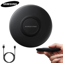 Original QI Fast wireless Charger EP-P1100 for Samsung Galaxy Note9 S8+ S7 S7Edge Note5 S6 S9 Note8 S8 Qi Certified Cevices