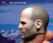 BT012 Head2.0 1/6 Death squads Jason Statham Head Sculpt Headplay Male Carving Model For 12 Action Figure Toys