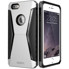 Case for iPhone 6 6 Plus, ESR Defender Armor Tri-Layer soft TPU Rugged Heavy Duty Shock Absorbing Case for iPhone 6s Plus 6 Plus