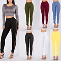 New 2016 Hot Women High Waist Hollow Out Mesh Leggings Sexy Hip Hop Harajuku Skinny Stretched Side Hole Club Party Legging