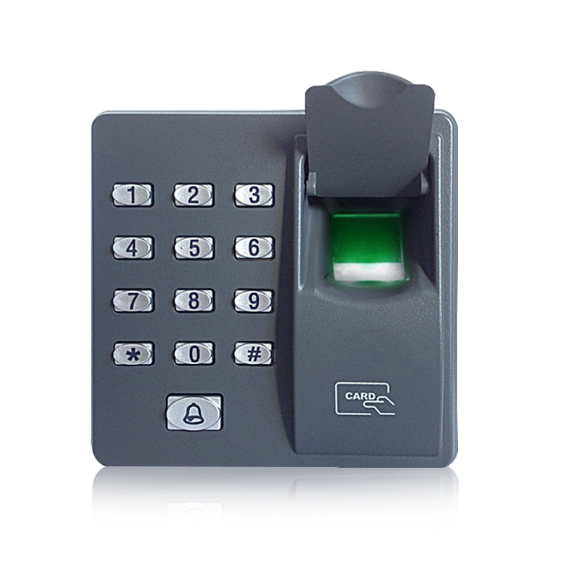 Fingerprint access control Terminal with Keypad Fingerprint Scanner For RFID door access control system biometric face and fingerprint access controller tcp ip zk multibio700 facial time attendance and door security control system