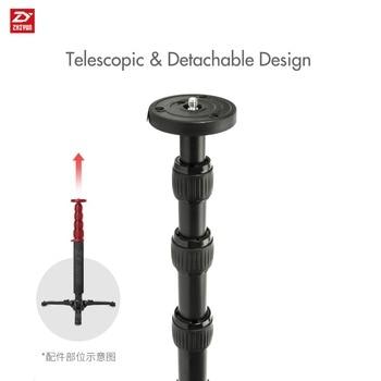 """Zhiyun  Telescopic Monopod for Zhiyun Crane 2 for Zhiyun Handheld Gimbal Stabilizer with 1/4"""" Mounting Screw"""