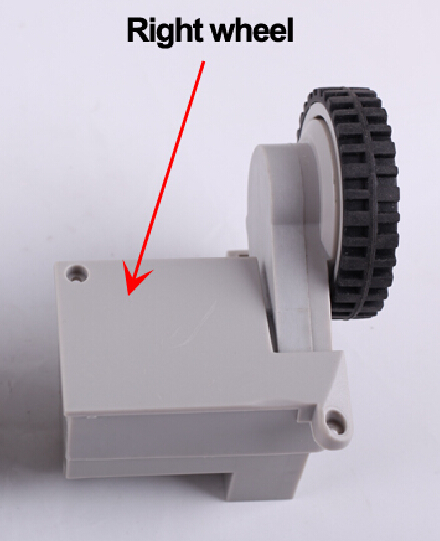 (For Cleaner-A320/A325/A330/A335/A336/A337/A338) Wheel for Robot Vacuum Cleaner, Including Right Wheel Assembly x 1pc