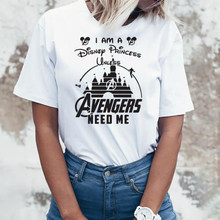Marvel Avengers Endgame T Shirt Women Heroes Superheroes Marvel Comics Captain America Thanos Vacation T-shirt(China)