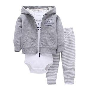 Image 5 - เด็กทารกเด็กทารกชุดเสื้อผ้าเด็กแรกเกิดเสื้อผ้าเด็กวัยหัดเดินชุดUnisex New Bornชุดฤดูใบไม้ผลิฤดูใบไม้ร่วงชุดเสื้อแจ็คเก็ต + บอดี้สูท + กางเกง