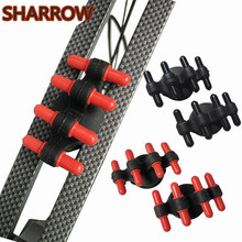2Pcs Archery Compound Bow Stabilizer Limbs Vibration Dampener Reduce Shock Damping Silencer For Outdoor Shooting Accessories