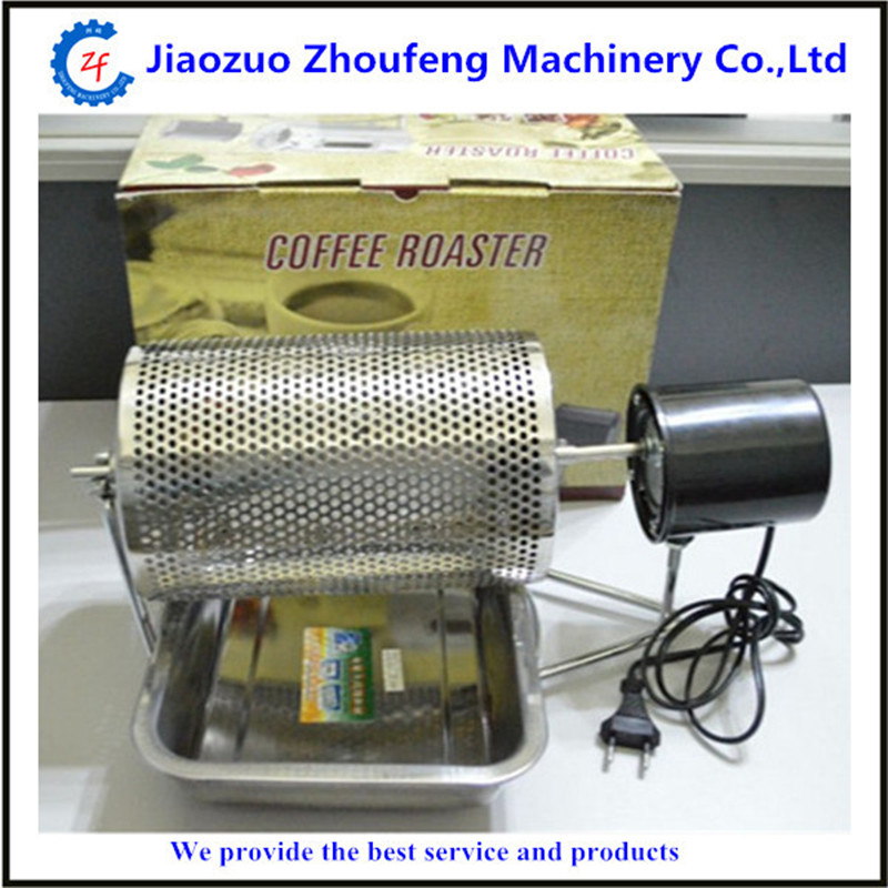 Electric stainless steel coffee roaster popular home use easy to operate mini цены