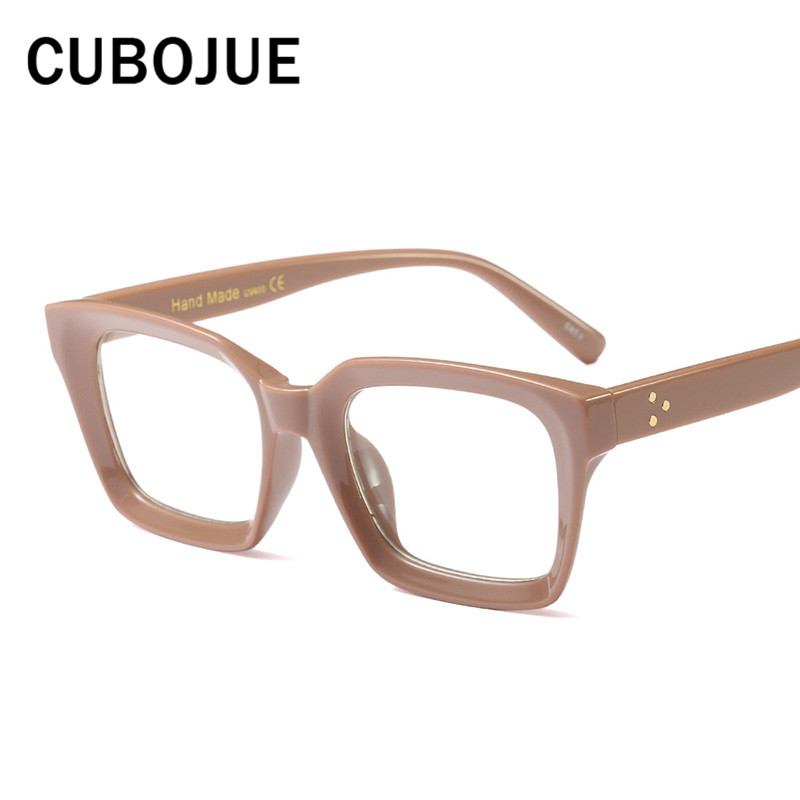 2018 Vintage Womens Glasses Frame Clear Plain Lens Eyeglasses Frames ...
