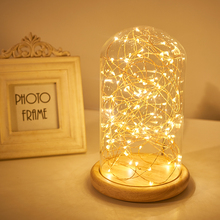 USB LED Table Lamp Firework Line Light Desk Lamp for Bedroom Novelty Christmas gift abajur Decorative Childrens Kids Night Light