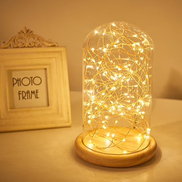 Merveilleux USB LED Table Lamp Firework Line Light Desk Lamp For Bedroom Novelty  Christmas Gift Abajur Decorative