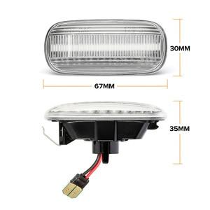 Image 4 - สำหรับAudi A6 C5 A4 B8 A3 8P S3 S4 S6 รถLEDแบบไดนามิกด้านข้างไฟเลี้ยวไฟสัญญาณblinker RepeaterรถFenderไฟ
