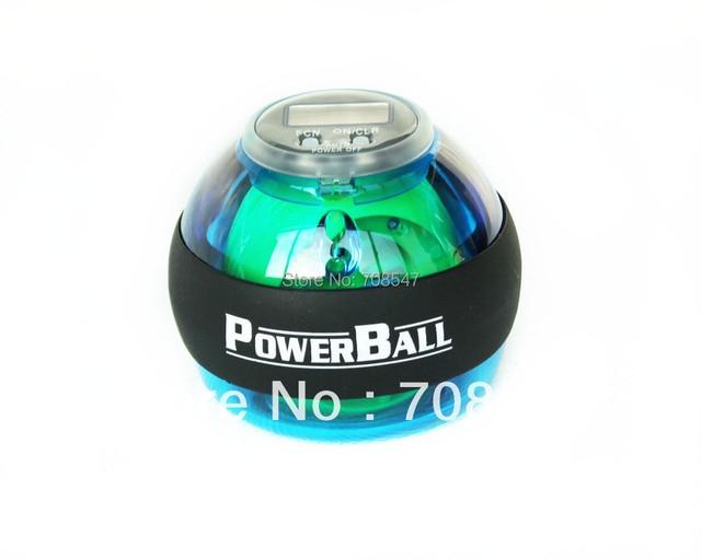 new style Power Gyroscope LED Wrist Strengthener Ball+SPEED METER/ Power Grip Ball/ Power Ball china post