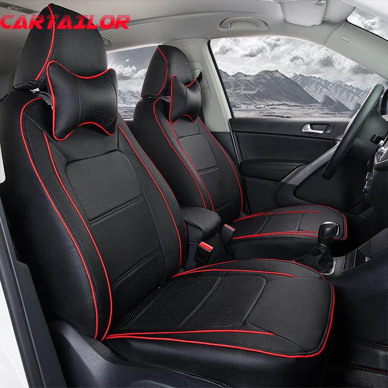 buy cartailor cover car seat protector for porsche cayenne car accessories pu. Black Bedroom Furniture Sets. Home Design Ideas