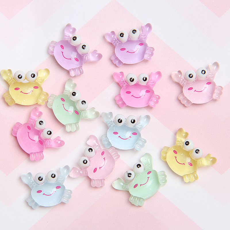 Resin Flat back cute elephant decoration DIY crafts children hairpin accessory