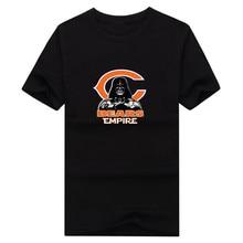2017 New 100% Cotton bears Empire T-shirt Star Wars Darth Vader chicago T Shirt 0106-14