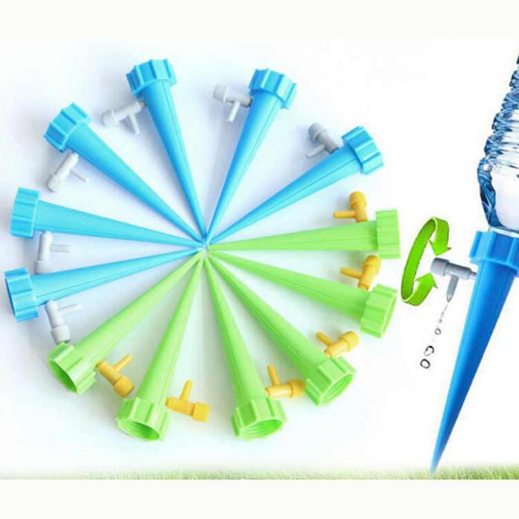 Plastik Air Otomatis Sprayer dengan Air Control Valve Air Masuki 1.1-Inch Diameter Botol Minuman dengan Irigasi Tetes