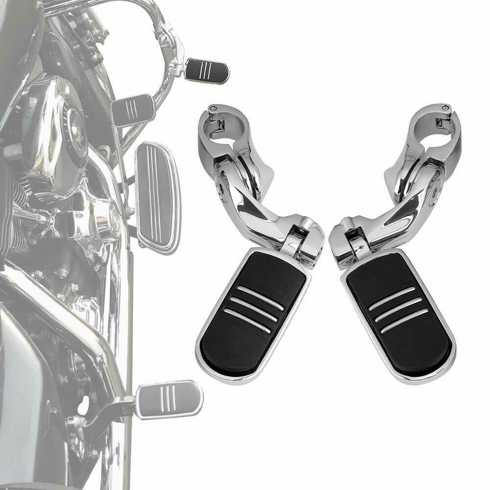 1 25 32mm Engine Guard Short Angled Adjustable Highway Foot Pegs For GoldWing GL1500 GL1100 for