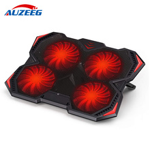 Laptop cooler 2 USB 3.0 Ports And 4 Ultra-Quiet LED Fans laptop cooling pad 3 Height Options Notebook for 12-17 inch