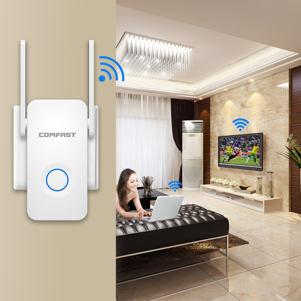 5ghz 1200Mbps wi-fi Router/Repeater/Access Point High Power Dual Band Gigabit Wireless WiFi Range wifi signal amplifier