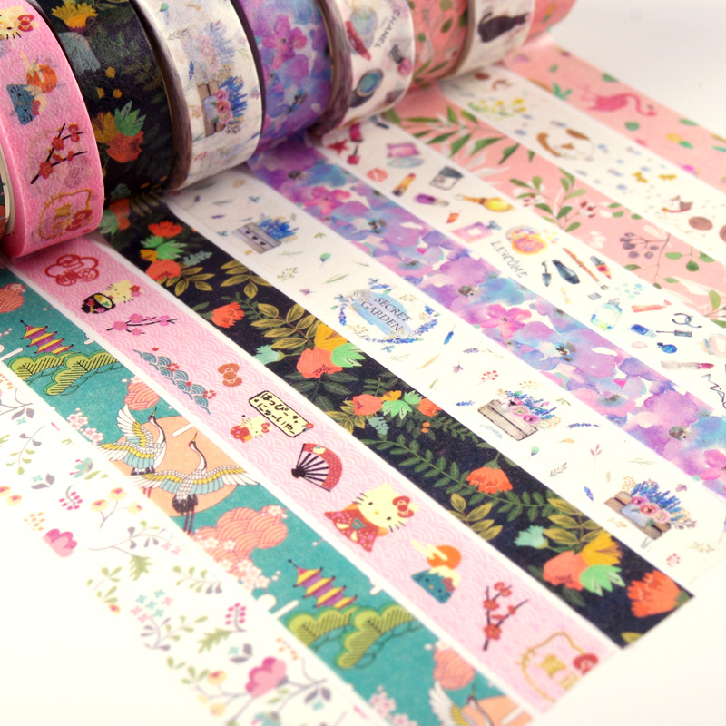 Stationery Stickers Planner Diary-Pack Posted Scrapbooking School-Supplies Kawaii It
