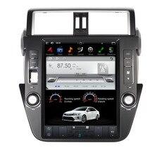 ROM 64G 12.1″ Android Fit Toyota PRADO/ LC150 / PRADO 150 2014 2015 2016 Car DVD Player Navigation GPS Radio