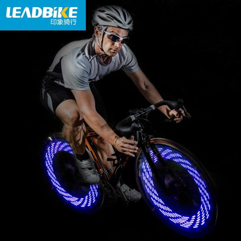 Leadbike 7 led kleurrijke fiets wiel led verlichting fietsen fiets ...