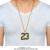 Jordan Número 23 Pingentes Colar de Ouro Mens Cadeias de Hip Hop Para Nen Encantos Liga Big Colar Rock Music Dj Robusto Frete Grátis