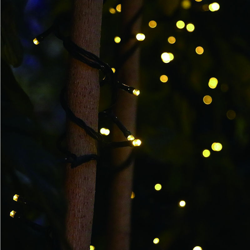 22M 200 LED solar membawa lampu tali Garland Krismas Lampu Suria - Pencahayaan perayaan - Foto 5