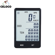 2.8'' Large Wireless Bike Computer Cycling Speedometer Sensor Odometer Rainproof Bicycle Measurable Temperature Stopwatch Gps multifunctions bike computer bicycle speedometer odometer tracking distance speed time calories temperature velocimetro bike