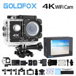 Ultra HD 4K Sport Wifi Action Camera 170D Wide Angel Go Waterproof Pro H9 Style Sport DV Video Bike Helmet Action Camera