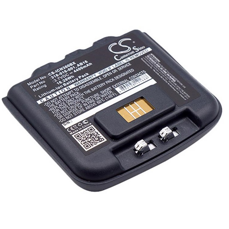 <font><b>4400mAh</b></font> <font><b>Battery</b></font> for Intermec CN3 CN3E CN4 CN4E Barcode Scanner Li-Ion Rechargeable <font><b>3.7V</b></font> 318-016-001 318-016-002 AB9 AB16 AB15 image