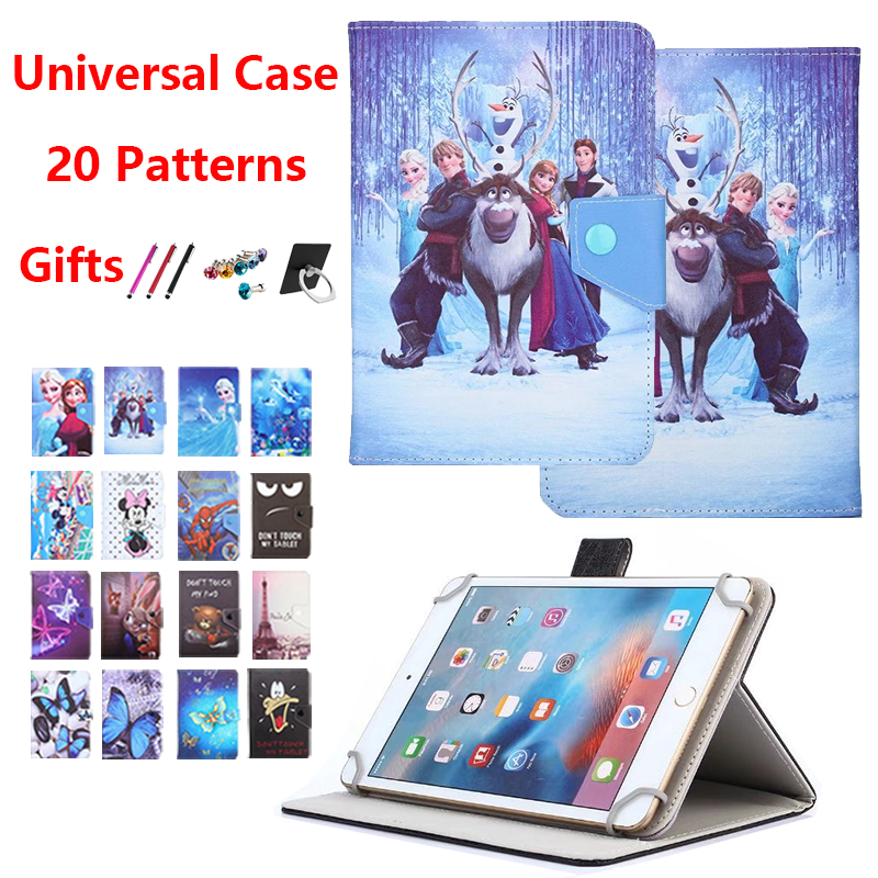 Universal Case For 7 Inch Tablet Samsung Galaxy Tab A6 E 4 3 2 7.0 Cover For Lenovo Tab E7 4 3 7 /Huawei Mediapad T3 T2 T1 7.0