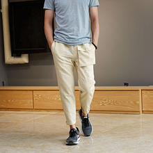 Mens linen capris online shopping-the world largest mens linen ...