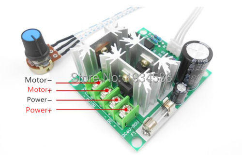 Integrated Circuits Enthusiastic Dc Power 6v-12v 6a Dc Motor Speed Controller Pulse Width Modulation Pwm Controller Switch 20khz Newest