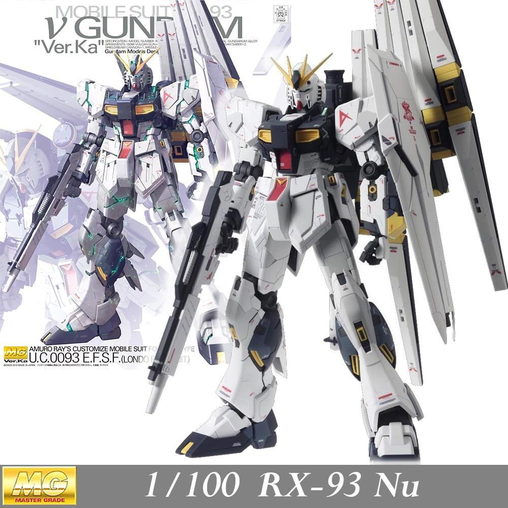Daban Model MG No.115 RX-93 V/Nu Gundam Version Ka Char's Counterattack 1/100 Assembled Hobby Action Figures robots plastic toys new phoenix 11207 b777 300er pk gii 1 400 skyteam aviation indonesia commercial jetliners plane model hobby